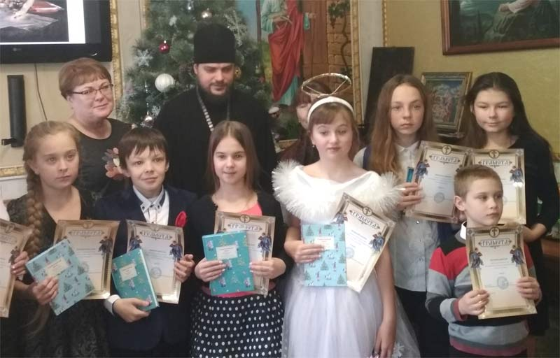 Победители конкурса чтецов в Свято-Ильинском храме