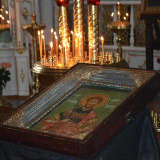 Икона вмч Феодор Тирон