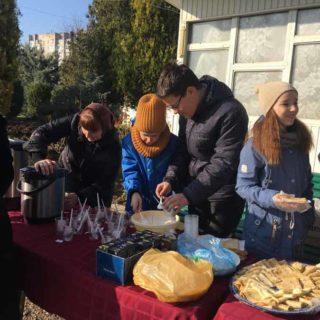 Неделя сыропустная в Свято-Ильинском храме г. Саки