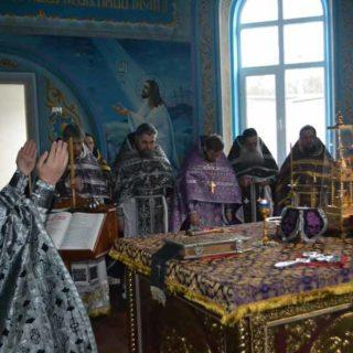 Литургия Преждеосвященных Даров в Свято-Ильинском храме г. Саки