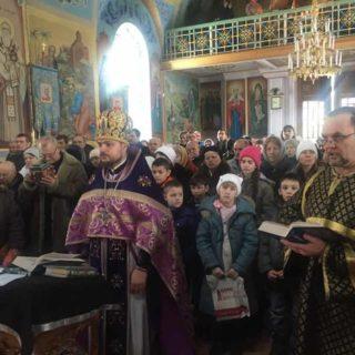 Неделя 1-я Великого поста. Торжество Православия. Свято-Ильинский храм г.Саки