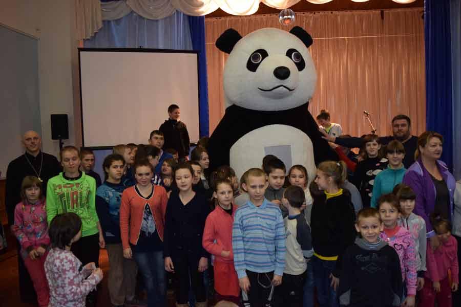 Благотворительная акция в Чеботарской школе-интернате