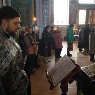 Первая в Великом посту Пассия. Свято-Ильинский храм. г.Саки Крым