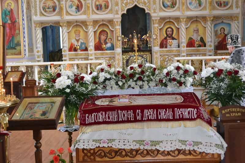 Вечерня Великой Пятницы Свято-Ильинский храм г.Саки