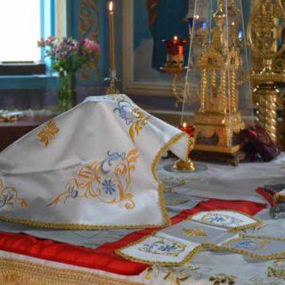 Великая Суббота и Благовещение Пресвятой Богородицы Свято-Ильинский храм г.Саки
