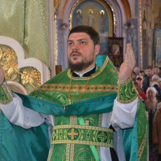 Вербное Воскресенье в Свято-Ильинском храме г.Саки Крым