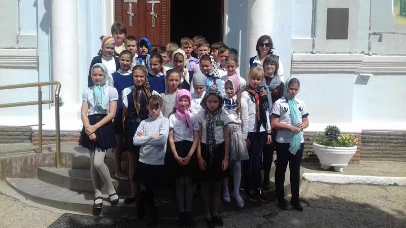 Экскурсия по Свято-Ильинскому храму г.Саки