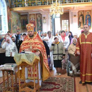 Божественная Литургия и благодарственный молебен в День Победы в Свято-Ильинском храме
