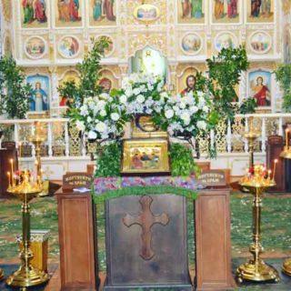День Святой Троицы в Свято-Ильинском храме г. Саки