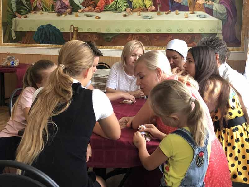 День семьи, любви и верности в воскресной школе