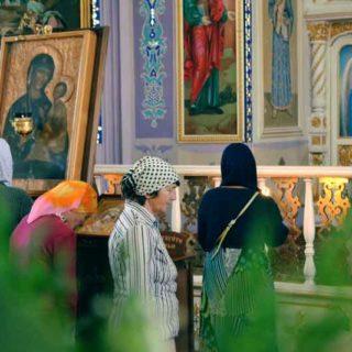 Рождество Пресвятой Богородицы в Свято-Ильинском храме г. Саки