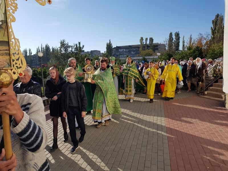 Престольный праздник храма в Новофедоровке
