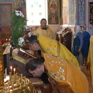 Встреча мощей святителя Димитрия Ростовского