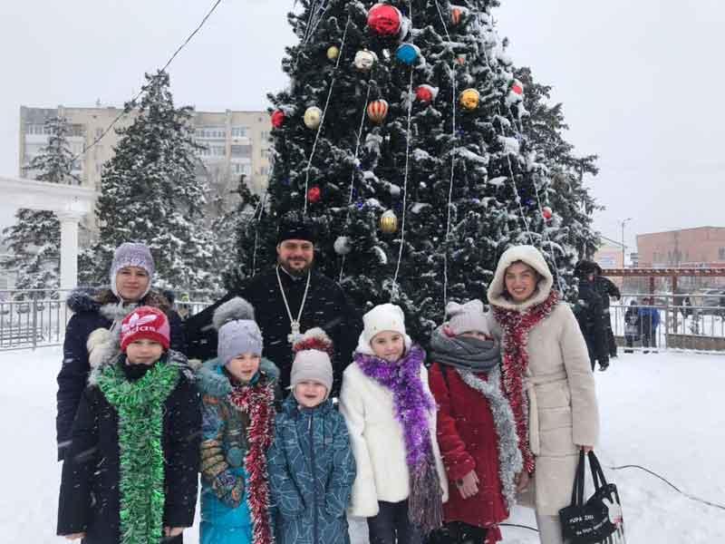 Рождественский концерт в Саках