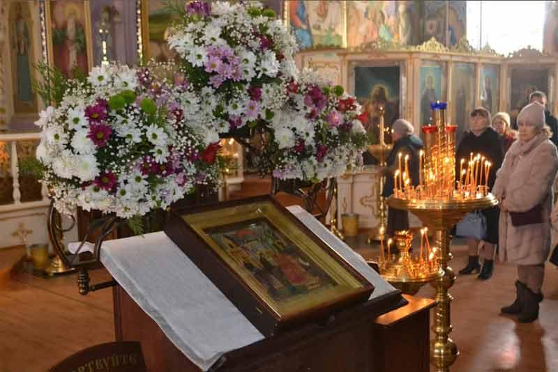 Сретение Господне в Свято-Ильинском храме г. Саки