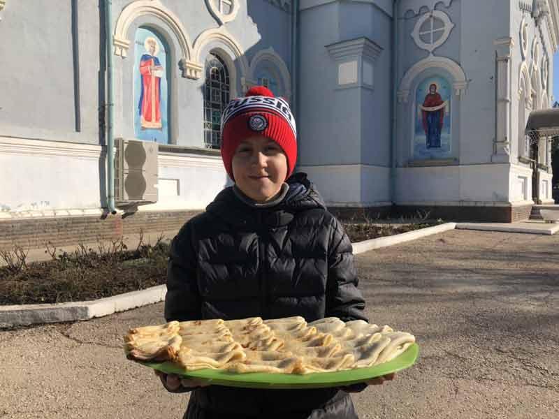 Масленица в Свято-Ильинском храме г. Саки