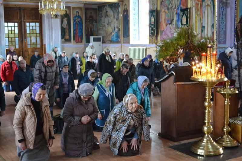 Вечерня с чином прощения в Свято-Ильинском храме 2019