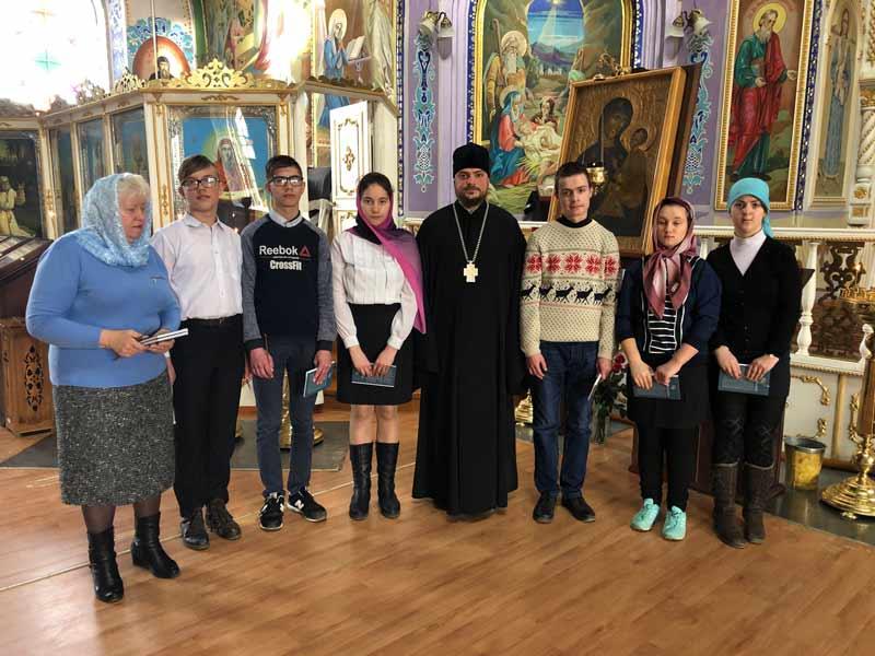 Встреча с воспитанниками Чеботарской специальной школы-интерната