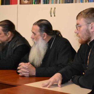Собрание духовенства сакского благочиния