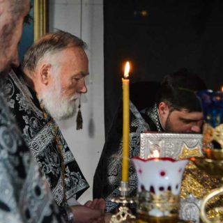 Первая в Великом посту Литургия Преждеосвященных Даров