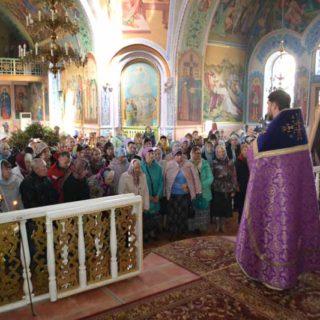 Великий Четверг в Свято-Ильинском храме г. Саки