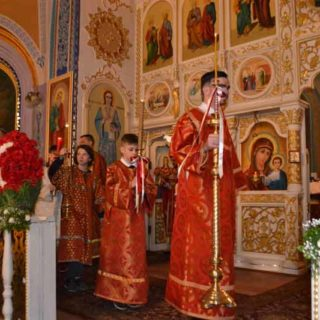 Пасхальное богослужение в Свято-Ильинском храме