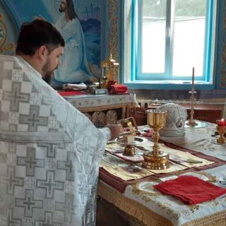 Вознесение Господне в Свято-Ильинском храме г.Саки