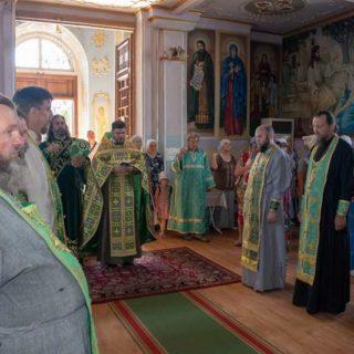 Престольный праздник в Свято-Ильинском храме г. Саки