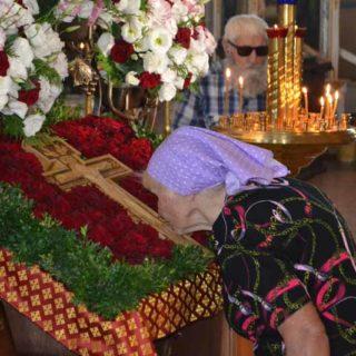 Начало Успенского поста в Свято-Ильинском храме г. Саки