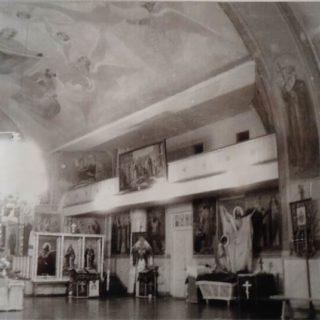 Свято-Ильинский храм г.Саки до восстановления купола