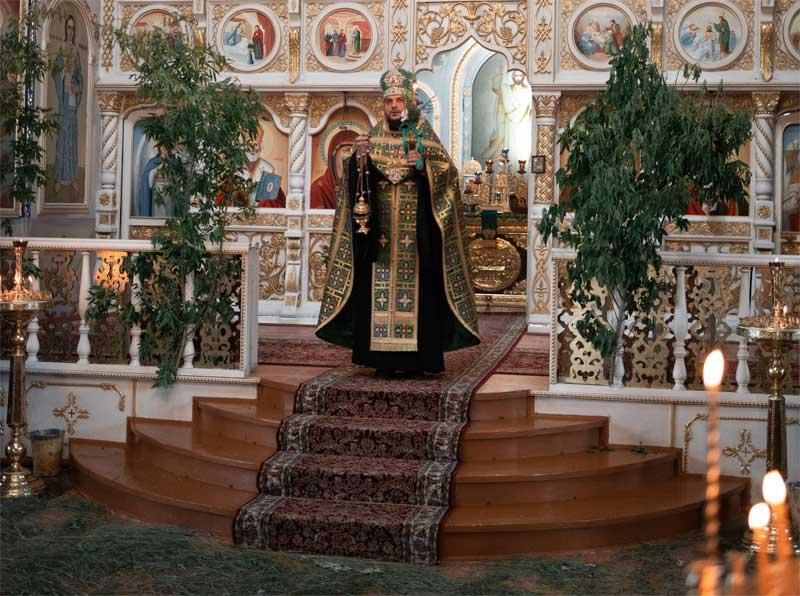 День Святой Троицы в Свято-Ильинском храме г.Саки